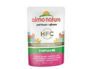 HFC Cats 55g Natural - kip en zalm
