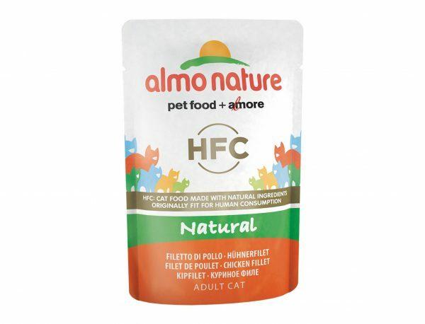 HFC Cats 55g Natural - kipfilet