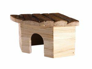 Knaagdierhuis hout Leli 21x15x10cm