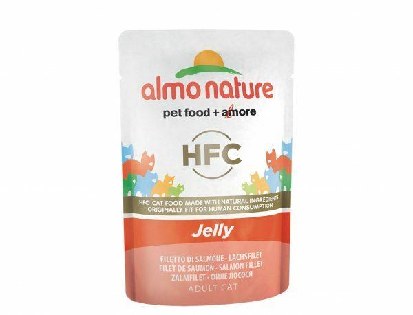 HFC Cats 55g Jelly - met zalm