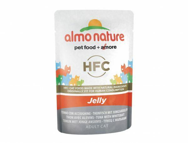 HFC Cats 55g Jelly - met tonijn en jonge ansjovis