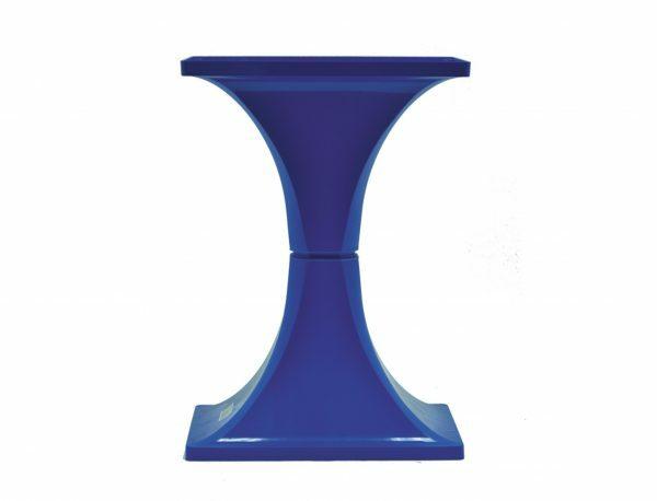 MPS Voet voor kooi Ambra blauw 28,3x48,4x68,4cm