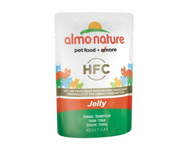HFC Cats 55g Jelly - met tonijn