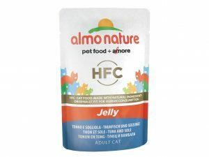 HFC Cats 55g Jelly - met tonijn en tong