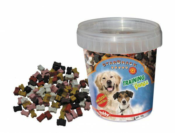 Snack hond emmer training bones 500gr