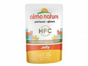 HFC Cats 55g Jelly - met kip