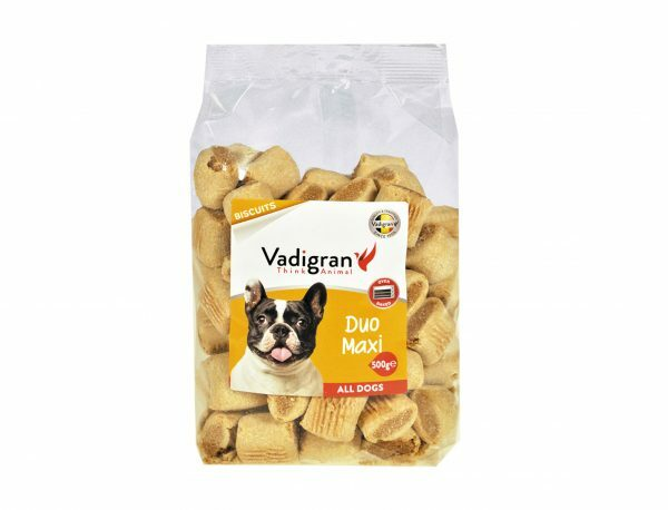 Snack hond Biscuits Duo Maxi 500g