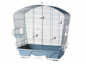 Kooi kleine vogel Louise 50 blauw 71x38x73,5cm