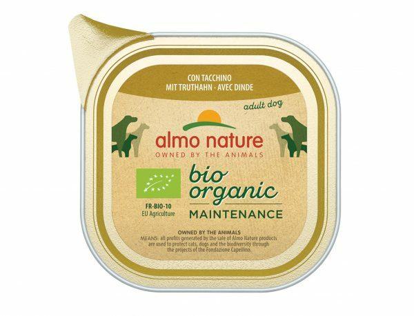 BIO Organic Dogs 100g met kalkoen