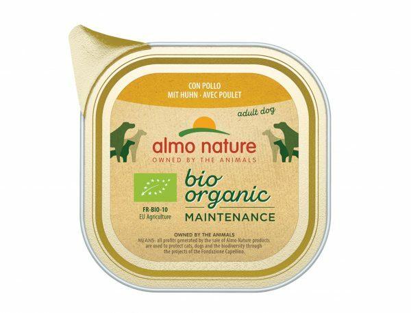BIO Organic Dogs 100g met Kip