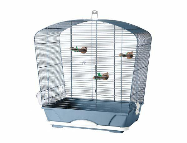 Kooi kleine vogel Louise 40 blauw 53x32x55cm