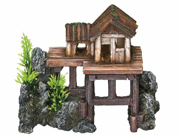 Aqua Deco Houten huis 155x80x120mm