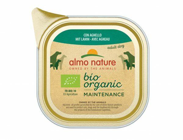 BIO Organic Dogs 100g met Lam