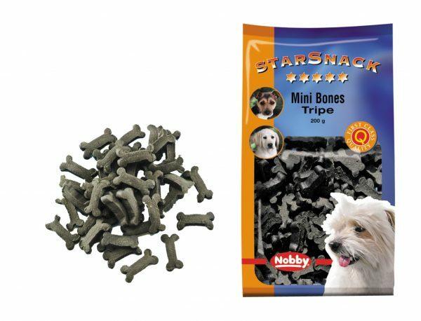 Snack hond mini bones pens 200gr