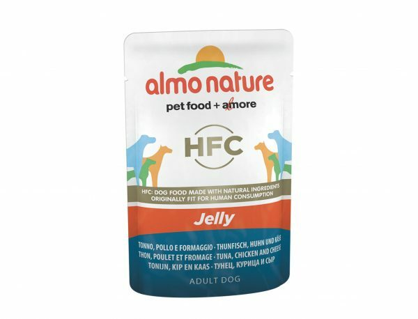 HFC Dogs 70g Jelly - tonijn, kip en kaas