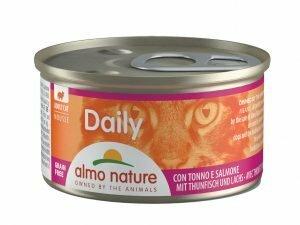 Daily Cats 85g Mousse met tonijn en zalm
