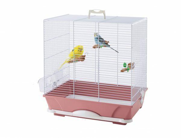 Kooi kleine vogel Primo 40 roze 46x32x48cm