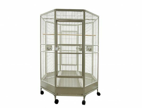 Kooi papegaai Zany beige 132x132x185cm L (3 Box)