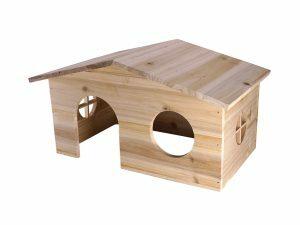 Knaagdierhuis hout Hali 38x23x21cm