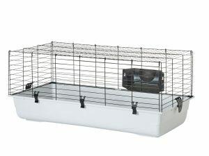 Knaagdierenkooi Ambiente 100 zwart/Ass.100x50x43cm