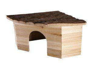 Knaagdierhuis hout Leli 40x28x16cm