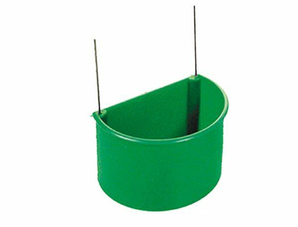 Eetpot plastic Kolibrie groen L 90ml