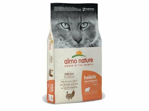 Holistic Cats 12Kg kalkoen en rijst