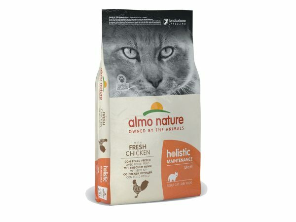 Holistic Cats 12Kg kip en rijst