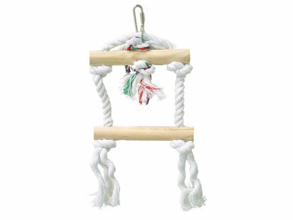 Speelgoed vogel touwladder Tarzan 25cm