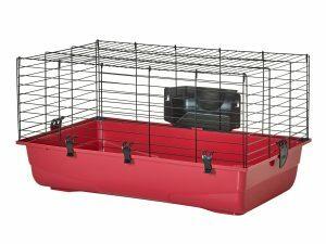 Knaagdierenkooi Ambiente 80 zwart/Ass.80x50x43cm