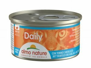 Daily Cats 85g Mousse met tonijn en kabeljauw