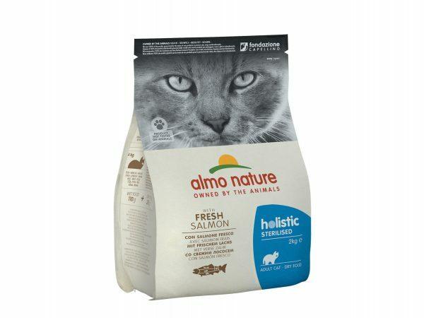 Holistic Cats 2Kg Sterilised - zalm en rijst