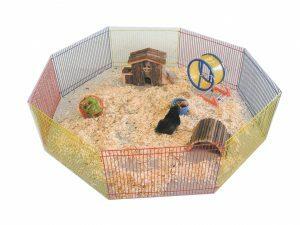 p6146  81088 speelren achthoekig hamster 34 x23cm 1