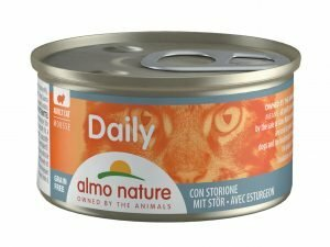 Daily Cats 85g Mousse met steur