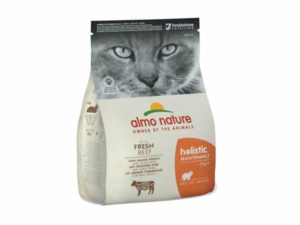 Holistic Cats 2Kg rundvlees en rijst