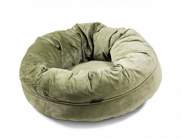 Donut Velvetti groen Ø60x25cm