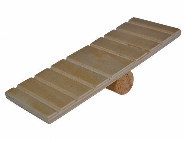 Speelgoed knaagdier hout wip 18cm