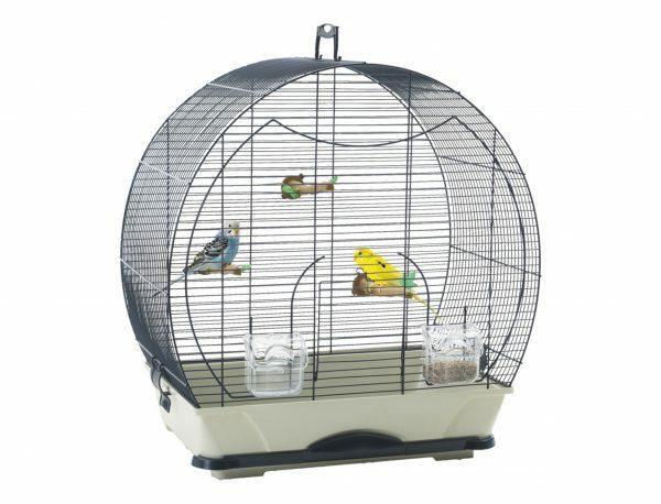 Kooi kleine vogel S Evelyne 40 blauw 52x32,5x55cm