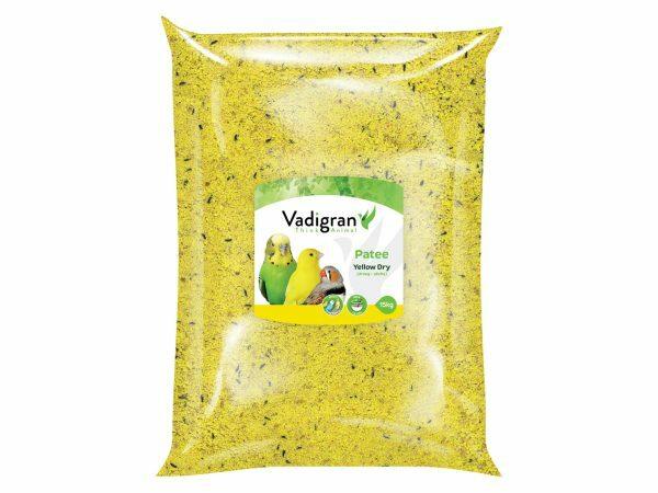 Patee droog geel 15kg