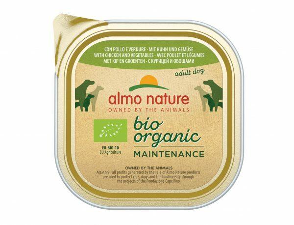 BIO Organic Dogs 300g met kip en groenten
