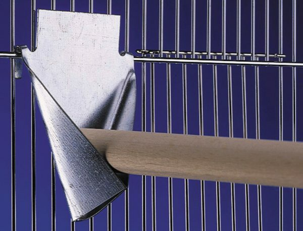 Stokhouder metaal 8 x 10,5 cm