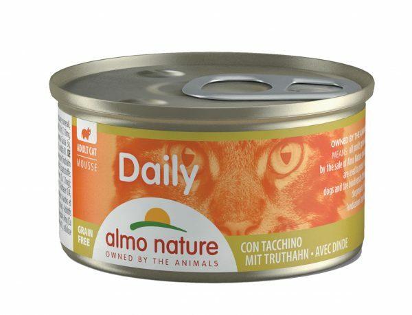 Daily Cats 85g Mousse met kalkoen