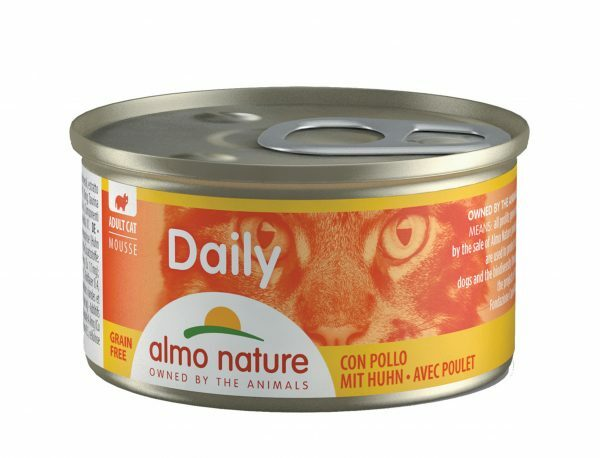 Daily Cats 85g Mousse met kip