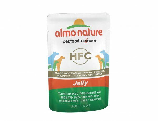 HFC Dogs 70g Jelly - tonijn en mais