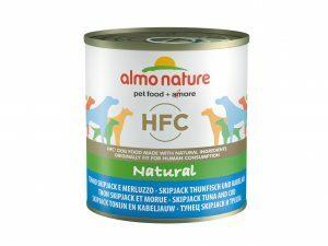 HFC Dogs 290g Natural - skipjack tonijn& kabeljauw