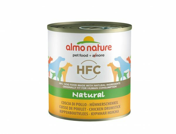 HFC Dogs 280g Natural - kippenboutvlees
