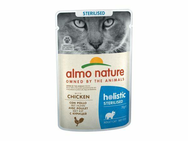 HOL Cats 70g Sterilised - met kip