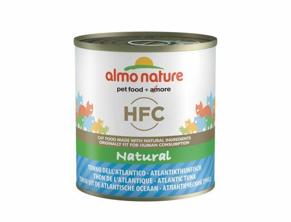 HFC Cats 280g Natural - atlantische tonijn
