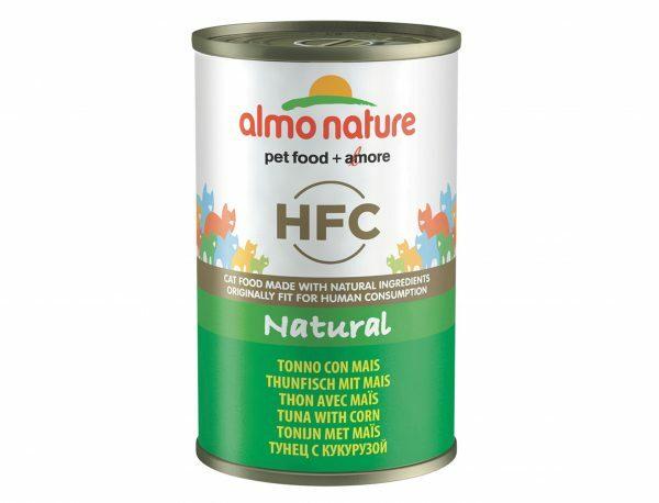 HFC Cats 140g Natural - tonijn met mais