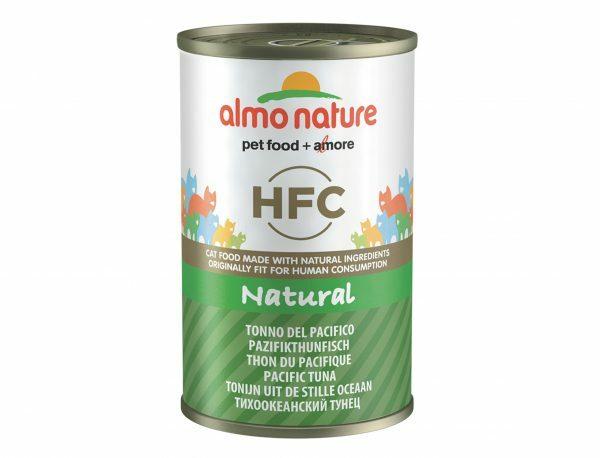 HFC Cats 140g Natural - pacifische tonijn